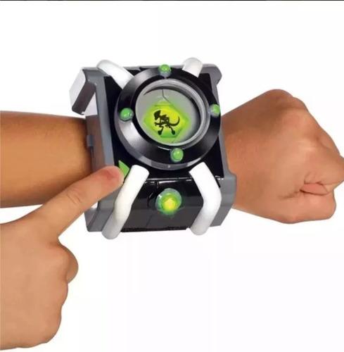 reloj ben 10 omnitrix juguete 30 frases español sonido luz