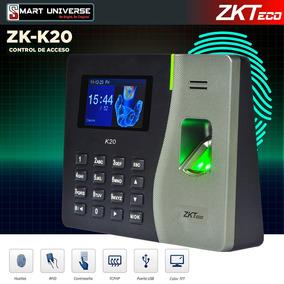 Reloj Biometrico Acceso Y Asistencia Zkteco K20 Huella