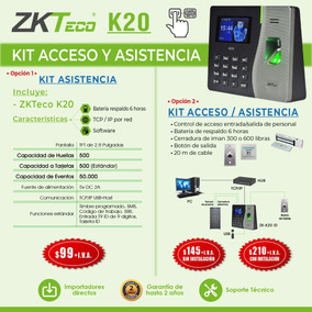 Reloj Biometrico Control Asistencia Huella