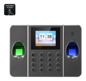 Digital Biométrico Reloj Huella Doble Dactilar 8nwmOyvN0