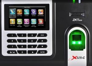 Reloj Biometrico Zk-x628 - Control De Personal