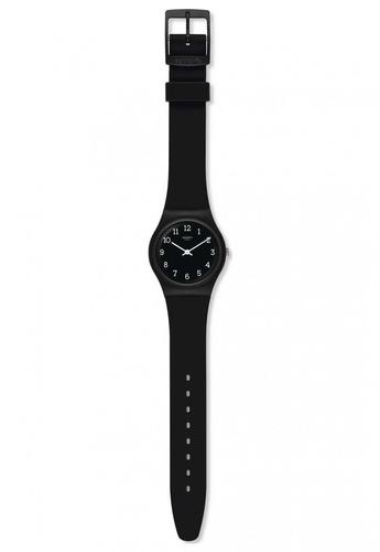 reloj blackway negro swatch