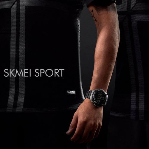 reloj bluetooth skmei 1347 pasos calorías acuático original