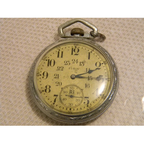 ebc68a24e Reloj De Bolsillo Marca Elgin De Ferrocarrilero. - Reloj de Bolsillo ...