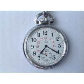 62dcf45f2 Reloj Elgin De Bolsillo - Reloj de Bolsillo Antiguo en Distrito ...