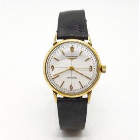 14fbb19a5249 Reloj Longines Automatico Chapa De Oro Original Antiguo