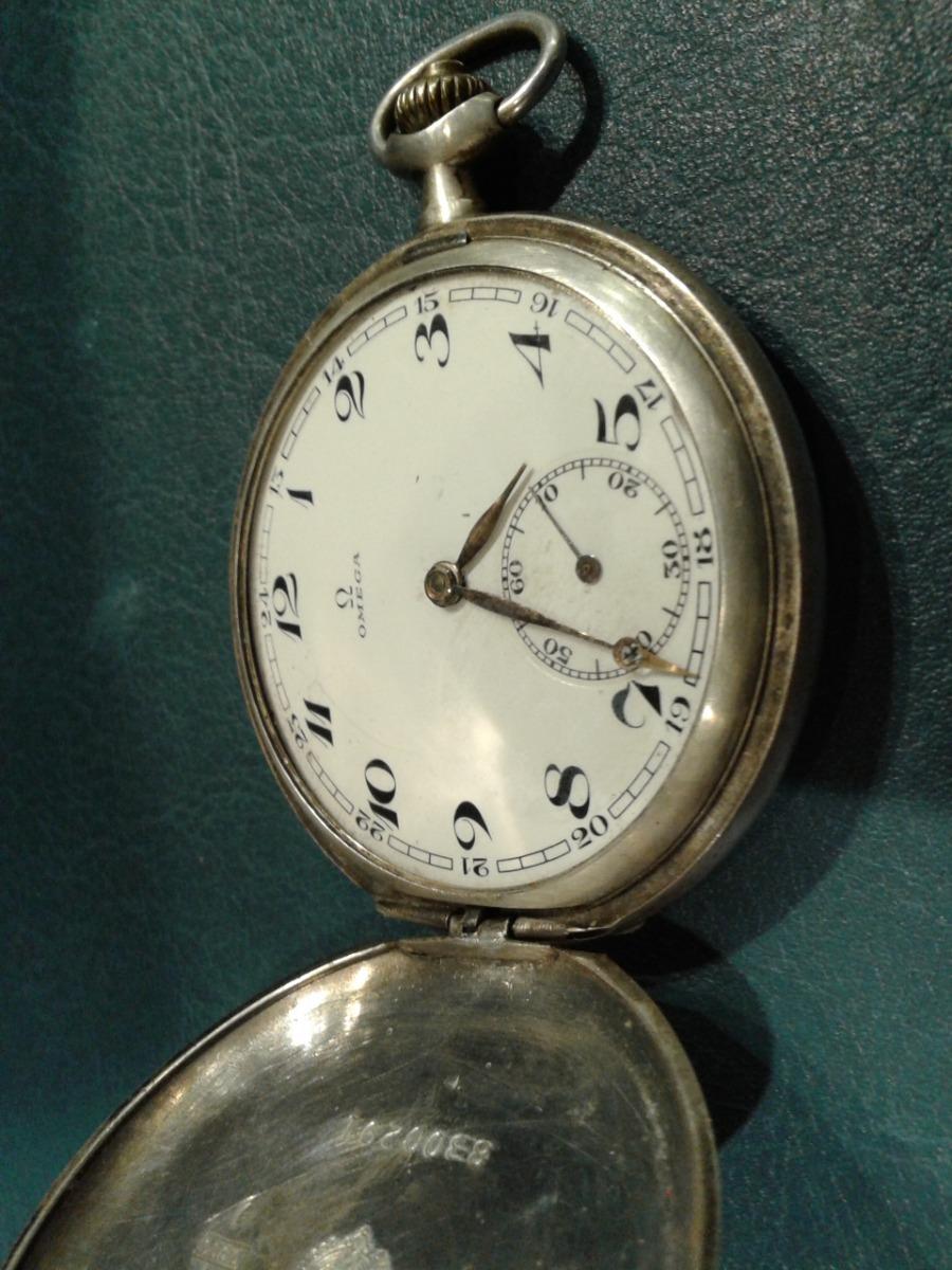 49955ed0b39d reloj bolsillo omega geneve caja plata 3 tapas funcionando. Cargando zoom.