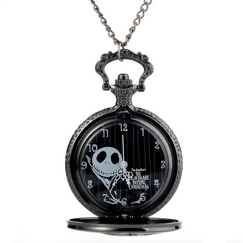 reloj bolsillo the nightmare before christma jack skellingto