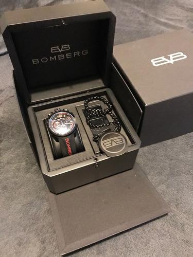 reloj bomberg bolt-68 con extras