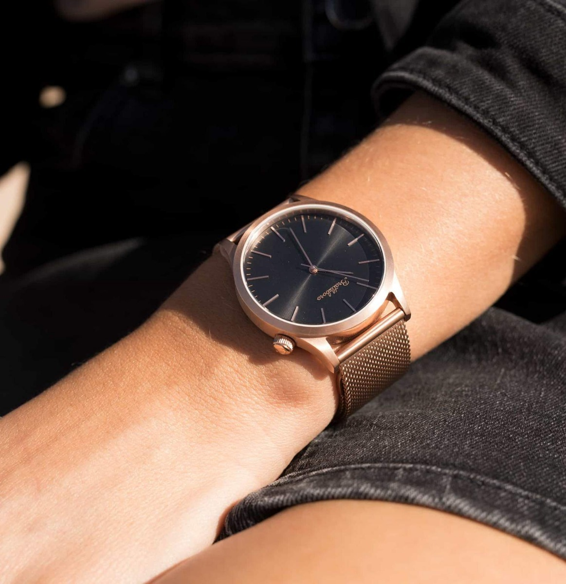 c17c010bd3cb reloj bratleboro - tayrona rose gold black. Cargando zoom.