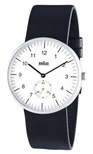 reloj braun cara blanca 38 mm