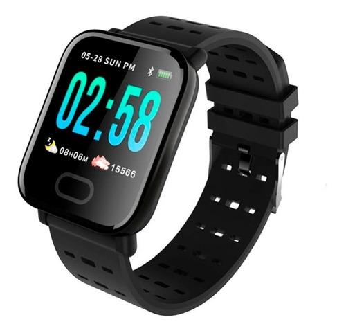 reloj brazalete smartwatch a6 bluetooth android i os