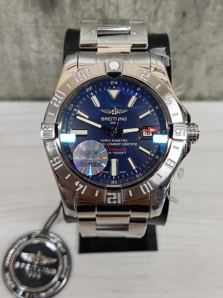 65b181d9b7 Reloj Breitling 1884 Acero Zafiro (fotos Reales) - $ 15,599.00 en ...