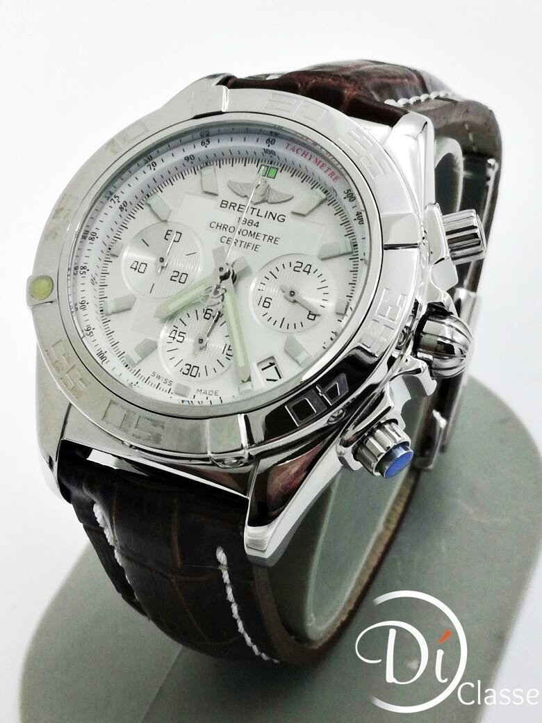 e0b9c017e6b9 Reloj Breitling 1884 Chronomat 44 Piel + Envio -   3