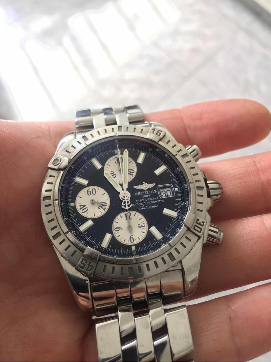 4ceb92f936 Reloj Breitling 1884 Chronomat Evolution - $ 130.000,00 en Mercado Libre