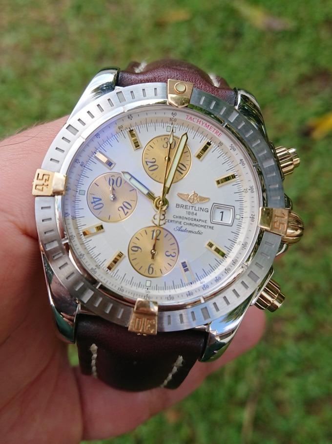 77986678c0 Reloj Breitling Chronomat Automatico.44mm Imponente ! - $ 49,900.00 ...