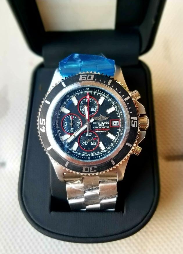 3ef7685ef3 Reloj Breitling Cronografo Secuencial - S/ 779,99 en Mercado Libre