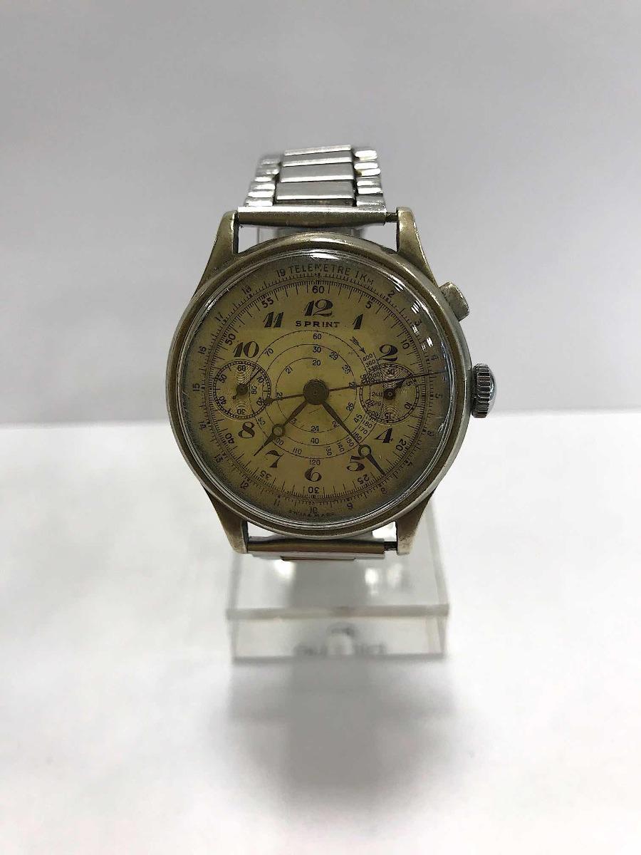 154e9932f6 Reloj Breitling Sprint Monopusher Cronógrafo De Acero - $ 25.999,00 ...