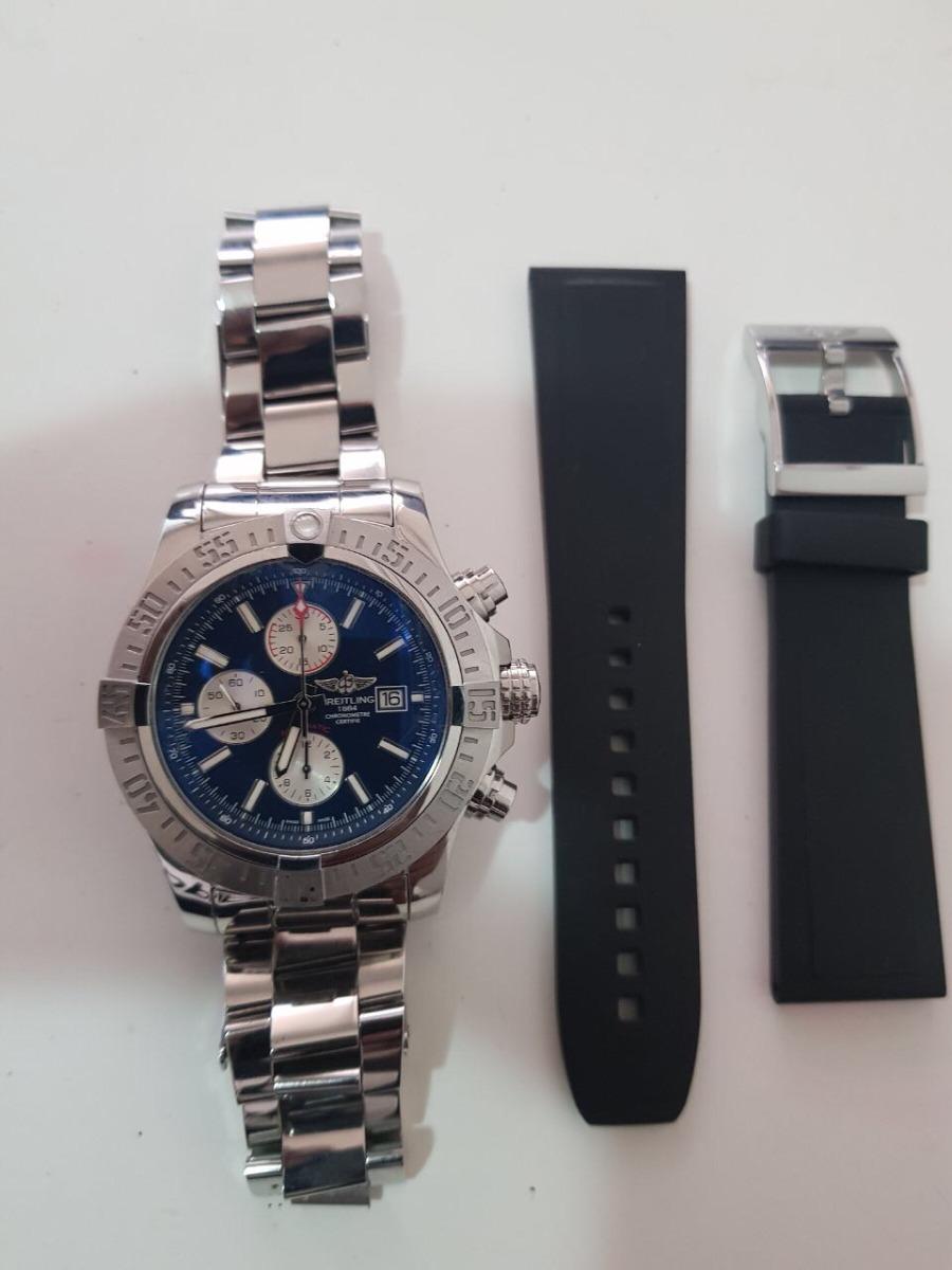 611a3805eb Reloj Breitling Súper Avenger Chronograph - $ 17.000.000 en Mercado ...