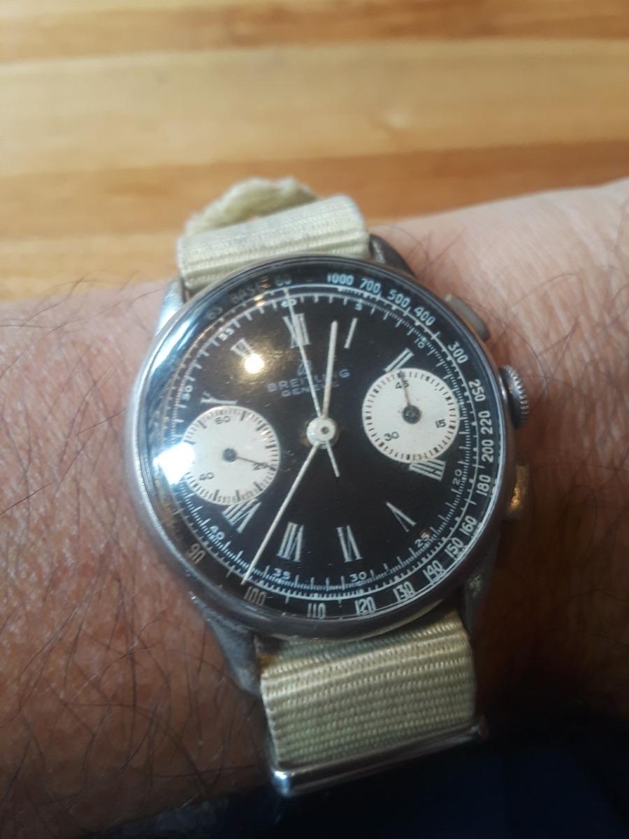 a60dbbb682 Reloj Breitling Vintage, Crono Circa 1944 - $ 26.000,00 en Mercado Libre
