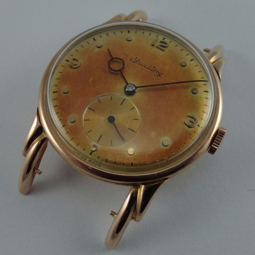 reloj breitling,oro18kl,suizo,dec 40',cuerda manual,garantia