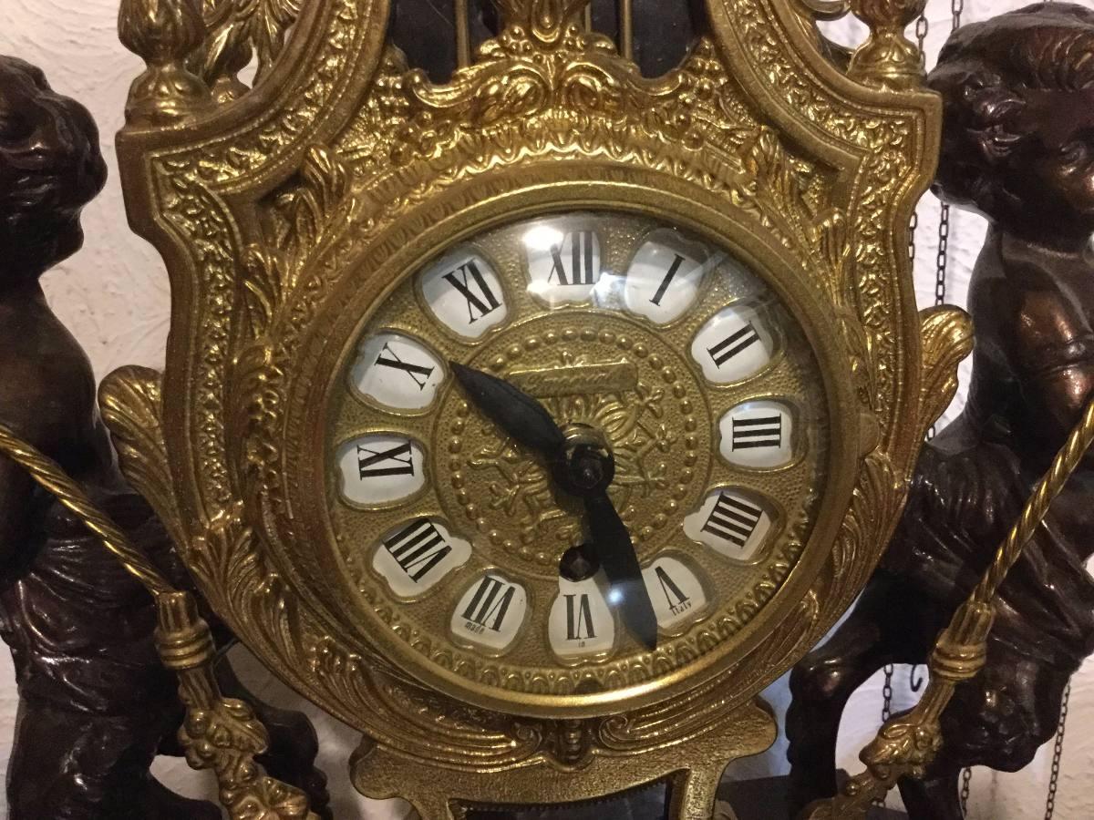 67ba577e79de reloj bronce italiano imperial marmol cuerda grande. Cargando zoom.