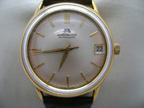 Bucherer Suizo Vintage Reloj Reloj Bucherer Vintage Automático Reloj Suizo Automático Bucherer XZikuOP