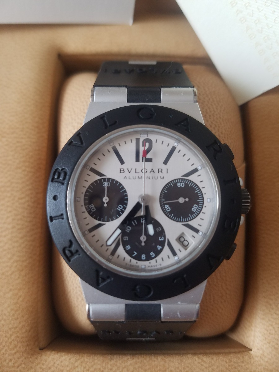 19a37b77a0ed reloj bulgari aluminio. Cargando zoom.