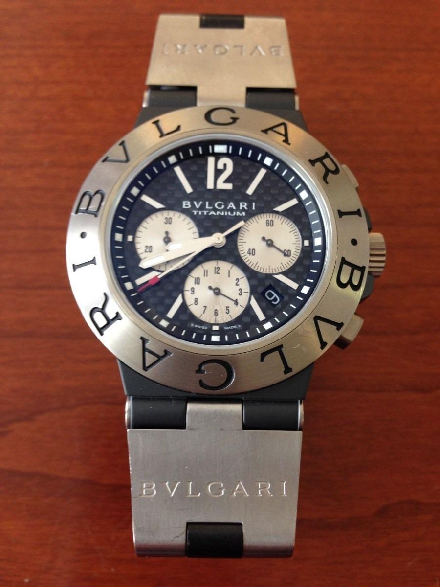 2c100282093 reloj Bulgari Bulgari Diagono Cronografo Titanio Regalado -   7.680 ...