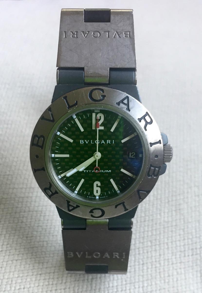 1e35596e66d reloj bulgari titanium. Cargando zoom.