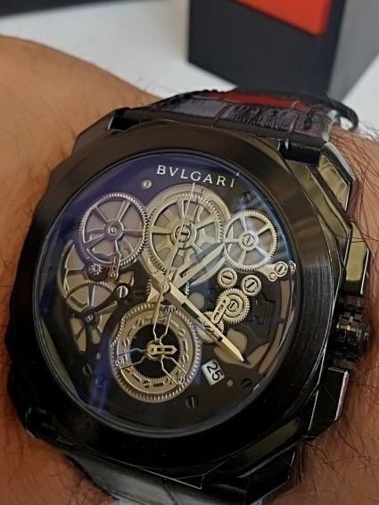 60ae5c2d3201 Reloj Bulgari Todos Los Cronos Funcionan -   1