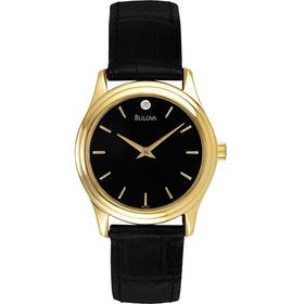 Reloj Bulova  97y01 Original 30mm Para Dama Diamante