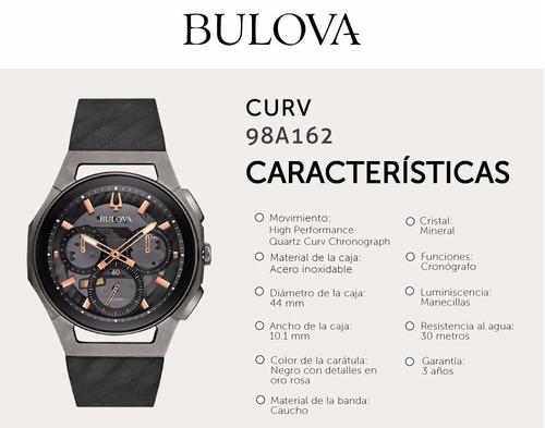 reloj bulova 98a162  curv titanio tienda oficial envió