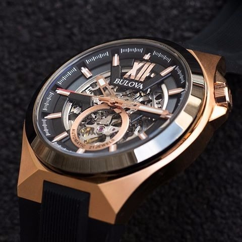 reloj bulova 98a177 automático tienda oficial envió.