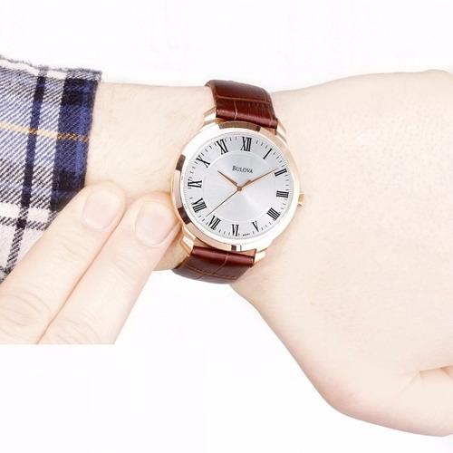 reloj bulova classic 97a107