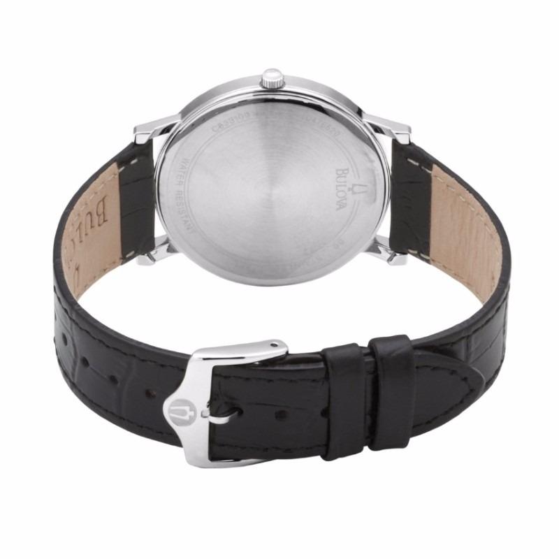 c0fd21016d99 reloj bulova classic nuevo original con fechador 96b104. Cargando zoom.