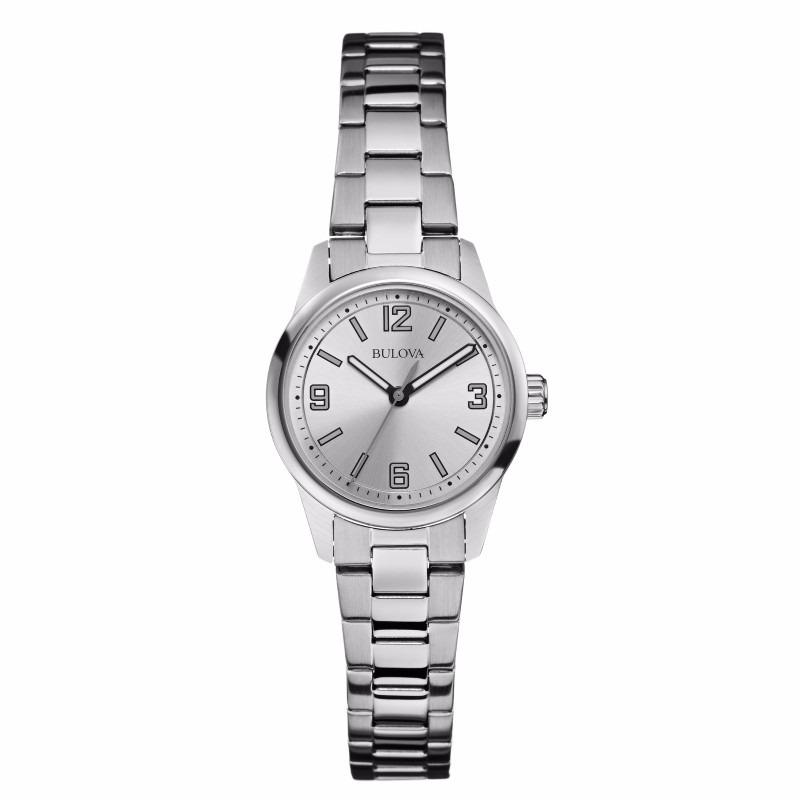 f14fde679 reloj bulova corporate 96l198 original para dama acero. Cargando zoom.