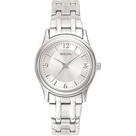 Reloj Bulova Corporate De Acero Inoxidable Para Dama 96l005