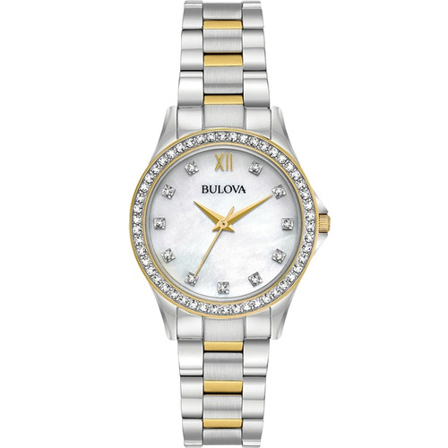 reloj bulova crystal 98x112 tienda oficial bulova