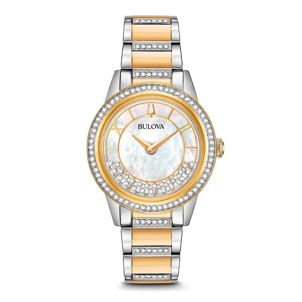 ec6105e6a reloj bulova crystal swarovski® 98l245 original para dama. Cargando zoom.