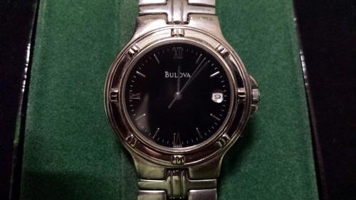 reloj bulova cuarzo(hombre)