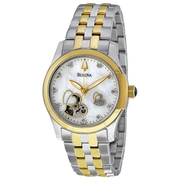 7ac9a15a882b Reloj Bulova Dama Automatico 98p123 -   6