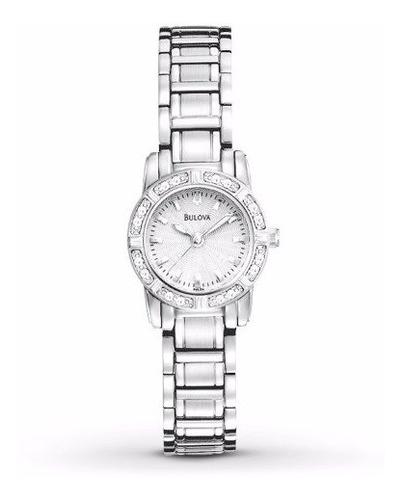 reloj bulova diamond 96r156 mujer | original agente oficial