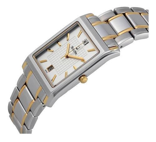 reloj bulova diamond 98d005 hombre original agente oficial