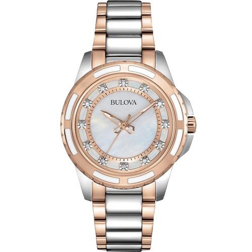 reloj bulova diamond 98p134 tienda oficial bulova