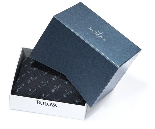 reloj bulova diamond collection acero hombre 96d18