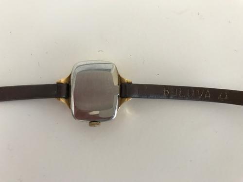 reloj bulova dior para dama vintage años 70's