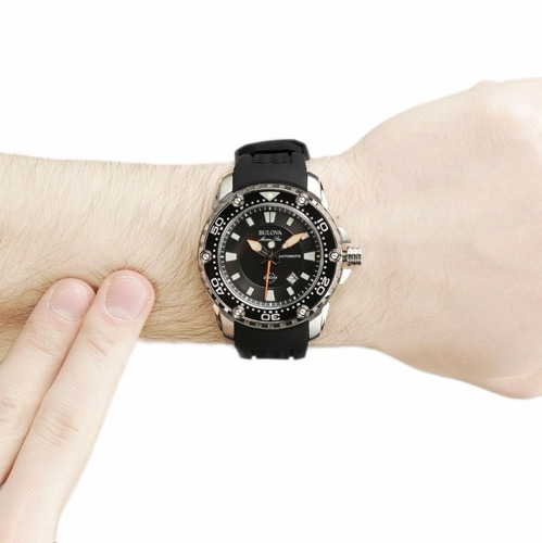 reloj bulova marine star 98b209