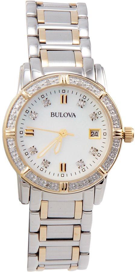 24b1e7fd8 Reloj Bulova Para Mujer Con Diamantes Acentuados Y -   892.550 en ...