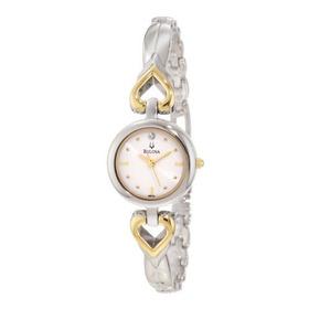 Reloj Bulova Mujer Clasico  98p131